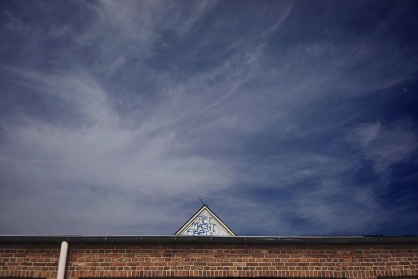 Lost Place Architecture Built Structure Cloud - Sky Sky Nature Building Exterior No People Outdoors Low Angle View Day