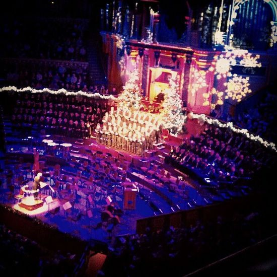 Christmas Xmas Choir  Kingscollege royalalberthall concert London England Europe culture
