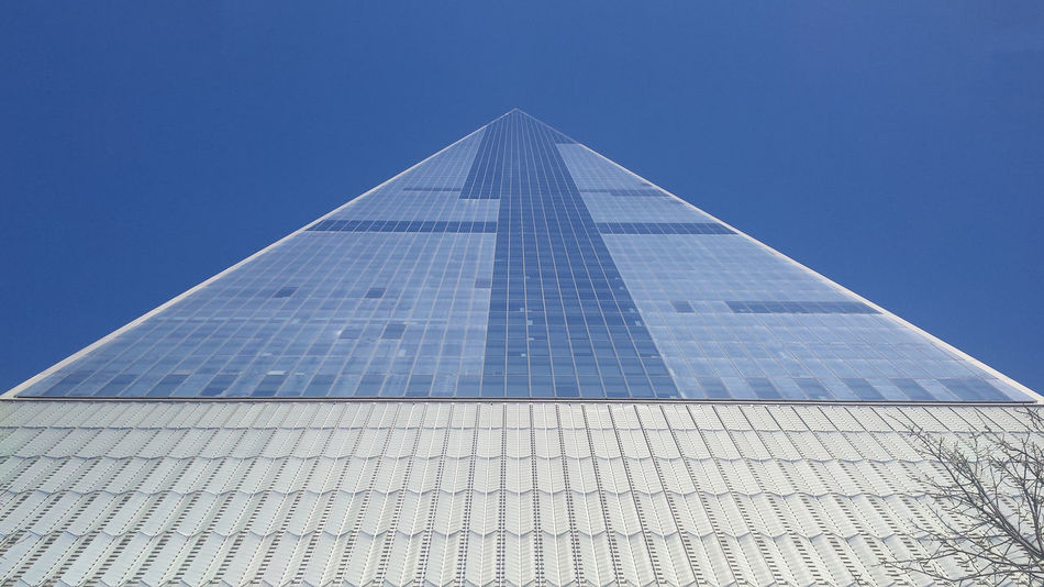Freedom Tower Architecture Building Exterior Built Structure Clear Sky EyeEmNewHere Freedom Tower Low Angle View No People Outdoors Prospective Skyscraper The Graphic City Mobility In Mega Cities Stories From The City Go Higher