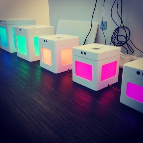 Funkyretail Hybrislabs . RGB LEDs done. Next up the Sensors and IOT.