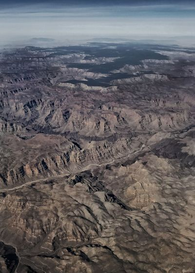 The Grand Canyon from way above. Rugged Landscape Desert Vertical Colorado River Erosion Drainage Geology Western USA Desert Canyon Grand Canyon Nature Geology Landscape Beauty In Nature Scenics Outdoors Extreme Terrain Physical Geography High Angle View Aerial View Arid Climate Day