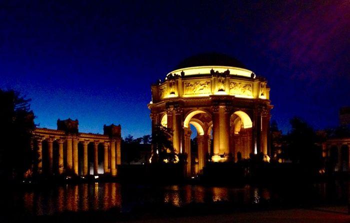 Dome Fine Art San Francisco Exchange Student USA Art Architecture Trip Traveling Amazing