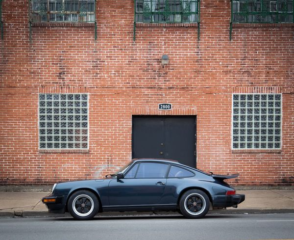 Early morning in Deep Ellum with The 88. Brick Wall Architecture Car Porsche 911 City