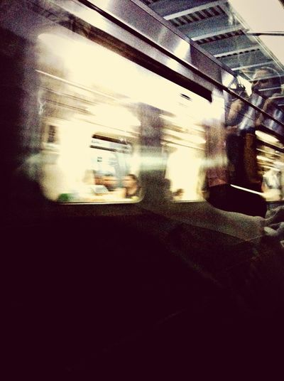 movement scintillating speed underground. shine and go. Keep growing Notes From The Underground Subway Light Living