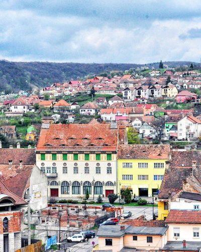 The Great Outdoors With Adobe City Urban Landscape Sighisoara Romania Mountain Urbanphotography