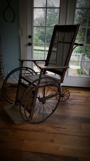 Wheelchair Antiques Antique Farmhouse Farm Life Farmhouseliving Chair Chairswithstories WoodChair Oldwood