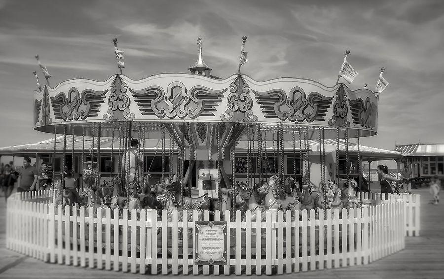 Carousel at the bottom of Llandudno Pier Amusement Park Arts Culture And Entertainment Outdoors Carousel Malephotographerofthemonth Creative Light And Shadow The World Through My Eyes Focus On Foreground Fujifilm Llandudno North Wales Llandudno, United Kingdom