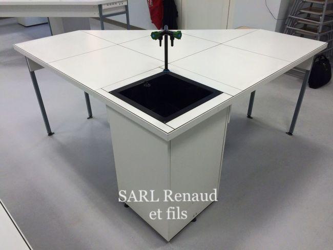 Paillasse Paillassesdelaboratoire Sarlrenaudetfils Sarl-renaud-et-fils.com Enseignement Lorraine Agencement