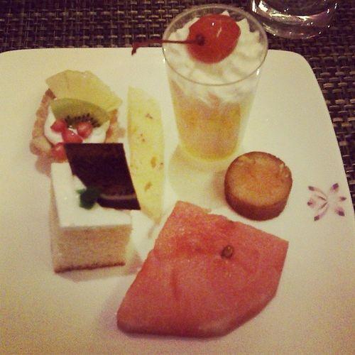 Dessert at Pinxx Ilovebuffets