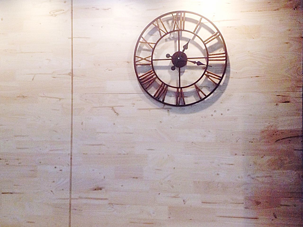 clock, time, indoors, no people, day, minute hand, clock face, roman numeral