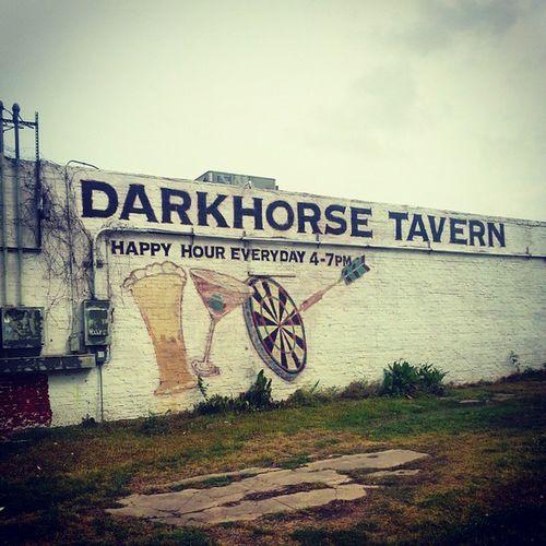 Darkhorse Tavern  Sixthward HistoricDristict Houston Texas Bar Retro