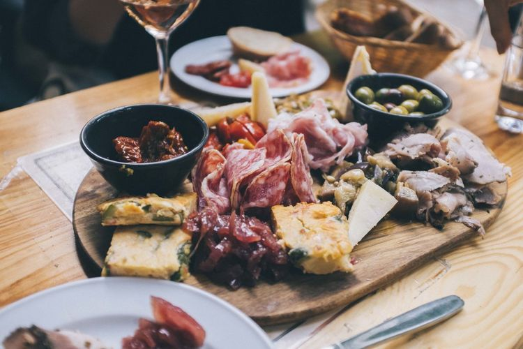 Antipasti Cheese Food Food And Drink Indoors  Italien Food Meat No People Ready-to-eat Summer Table Wine