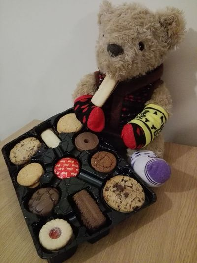 Teddy bear : cookies for everyone! Teddy Bear No People First Eyeem Photo Light And Shadow Magic Fluffy Happiness Love PhonePhotography Childhood Memories Photo Childhood Toy Toy Photography Happy London Camera England, UK Foods Travel Travel Photography Outdoors Child Illuminated Sweet Memories EyeEmNewHere Break The Mold Art Is Everywhere TCPM Visual Feast Neighborhood Map The Street Photographer - 2017 EyeEm Awards The Architect - 2017 EyeEm Awards The Great Outdoors - 2017 EyeEm Awards The Photojournalist - 2017 EyeEm Awards The Portraitist - 2017 EyeEm Awards BYOPaper! Live For The Story Pet Portraits Mix Yourself A Good Time The Week On EyeEm Modern Love Connected By Travel Lost In The Landscape Perspectives On Nature Rethink Things Postcode Postcards Second Acts Love Is Love The Still Life Photographer - 2018 EyeEm Awards The Portraitist - 2018 EyeEm Awards The Fashion Photographer - 2018 EyeEm Awards The Great Outdoors - 2018 EyeEm Awards The Street Photographer - 2018 EyeEm Awards The Traveler - 2018 EyeEm Awards The Creative - 2018 EyeEm Awards The Photojournalist - 2018 EyeEm Awards The Architect - 2018 EyeEm Awards World Cup 2018 Summer Road Tripping 10 The Troublemakers Love The Game