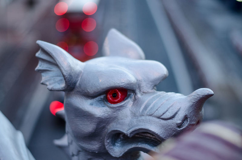Bokeh Bokeh Photography Close Up Close-up Depth Of Field Dragon Focus On Foreground Holborn Viaduct London