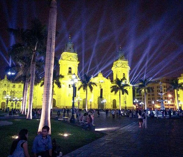 Plaza de Armas Lima 2am Lima