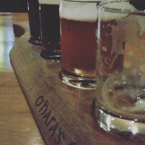Oharas Sampletray Lager Naturalblonde Hurler Wheatbeer Kilkenny Brewerycorner Ireland