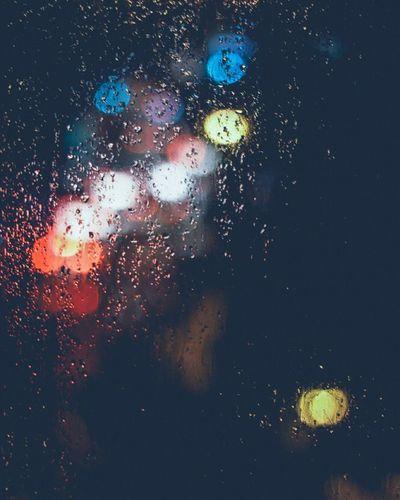 Photography Rine Cold Temperature Lights Defocused Hightlight