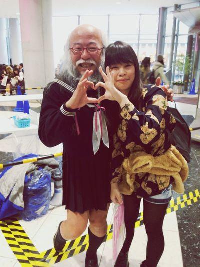 Japan KAWAII デザフェス セーラー服 セーラー服おじさんに会えたぞー!!!