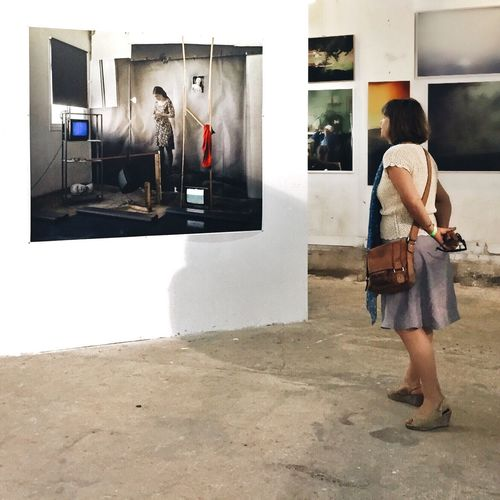 One step away from a dream Art Photography Dream Exibition Taking Photos Woman Telling Stories Differtenly Street Photography Eye4photography  EyeEm Best Shots Portrait People Tel Aviv The Portraitist - 2016 EyeEm Awards The Photojournalist - 2016 EyeEm Awards