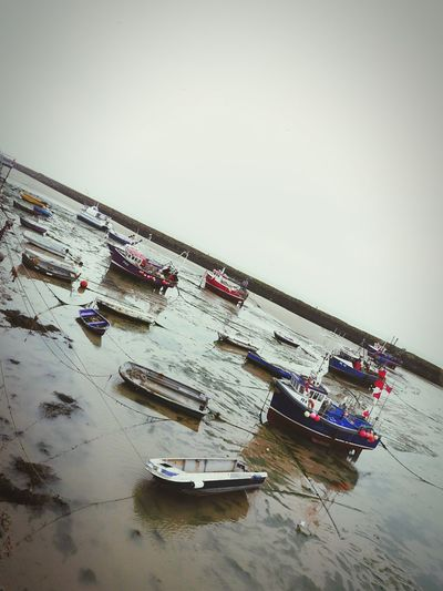Harbour Boat Rainy Days