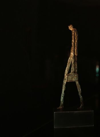 Statue shot with candle light only. The blue color is the patina of the aging copper. Candle Light Candlelight Copper Art Copper  #ArtWork Copy Space Studio Shot No People Creativity Sculpture Design