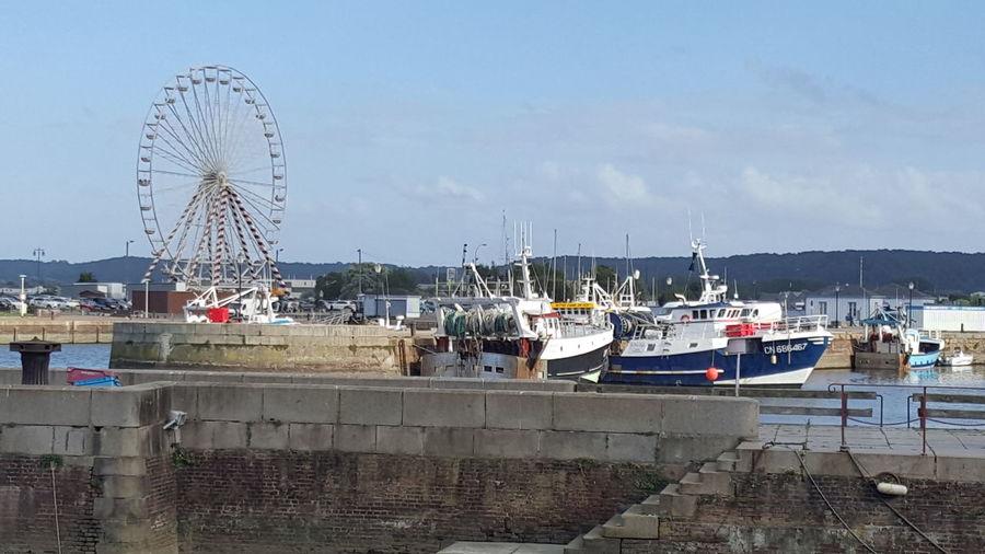 Mer Normandie Honfleur