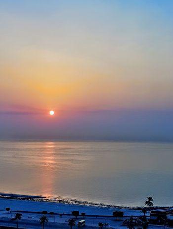 Sunrise , Good morning ، Bonjour ، Buenos dias ، Goede morgen، Καλημέρα ، صباح الخير ، 早安 ، Buongiorno ، Günaydın Water Sea Sunset Beach Nautical Vessel Blue Wave Awe Sunlight Summer Romantic Sky Seascape Refraction Moody Sky Dramatic Sky Coast Atmospheric Mood