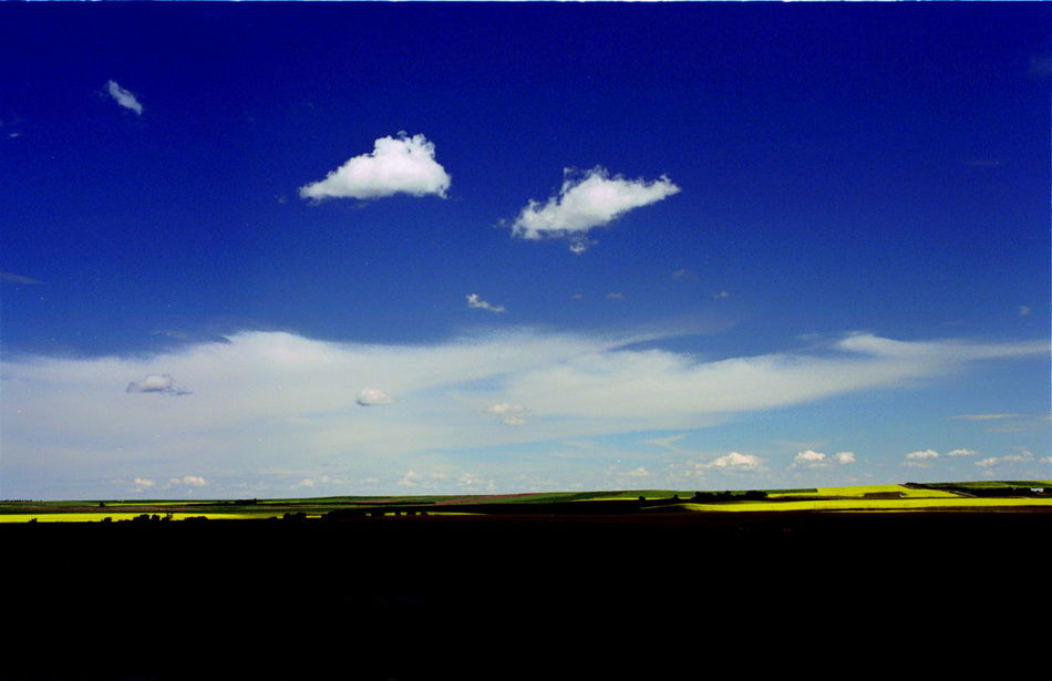 Lost In The Landscape Blue Landscape Nature No People Scenics Sky Tranquil Scene