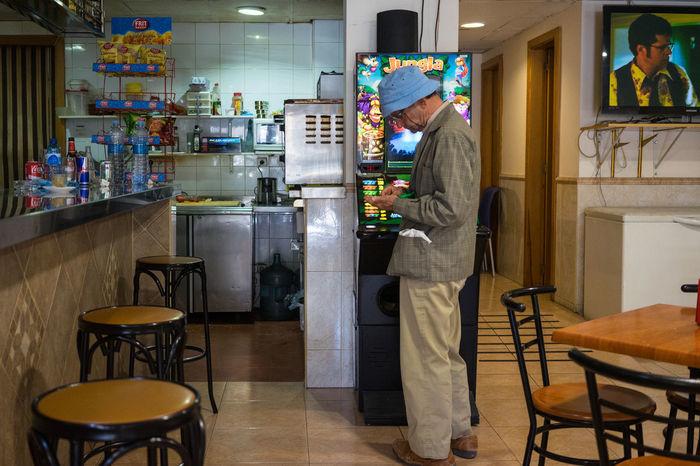 Bar El Terreno Gambling Joan Miró  SPAIN Späti Snap a Stranger Mix Yourself A Good Time