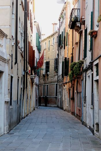 Old Alley Narrow City Architecture Building Get Lost Streets Of Venice Venice, Italy Venice Travel Destinations Travel Photography