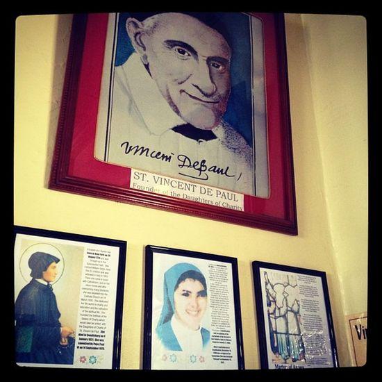 St. Vincent de Paul. Colegiodelsagradocorazondejesus 1917 Daughtersofcharity Almater school