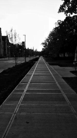 Long way home Sidewalk Streetscape Homebound
