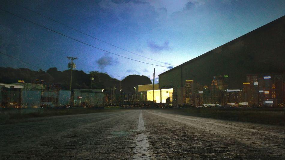Blended Photo Building Exterior Road Built Structure Sky Night St. Croix, US Virgin Islands