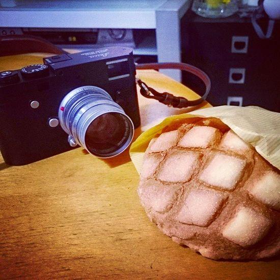 Leica Leicam -P浅草 メロンパン 買っちゃった