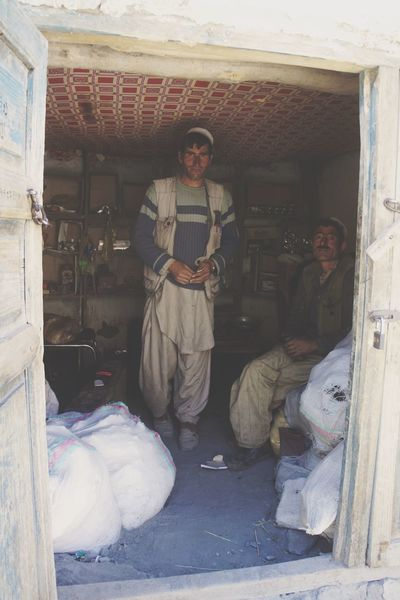 RePicture Travel - Afghan Shopkeeper in Northern Afghanistan
