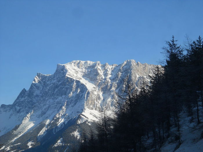 Blue Snow Mountain Winter Mountain Range Mountain Peak Landscape Engadina Engadine Switzerland