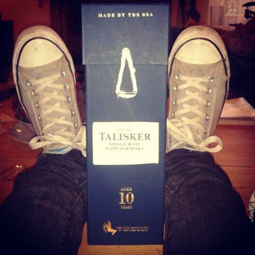 Day four x!, still sealed x! El cuarto dia,, Todavia sellado!! Taliskerwhiskey Taliskerwhiskyatlanticchallenge
