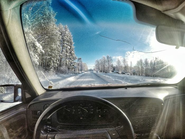 Playing with the new camera. Gopro Goprohero4 Goprohero4silver Sweden Saab9000 Saabnation Jamtland Winter Snow