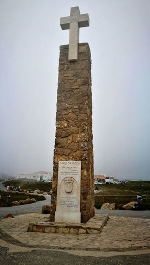 Monumentos Portugal Cabo da Roca westerpoint most occidental of Europe Continental