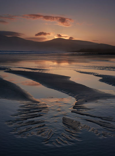 Kerry Ireland Beauty In Nature Cloud - Sky Dingle Peninsula Idyllic Low Tide Nature No People Reflection Remote Scenics - Nature Sea Sky Tranquil Scene Tranquility Water