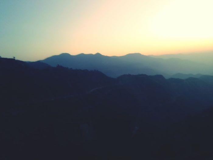 My Best Photo 2015 sunrise in TRUELY HEAVEN UTTRAKHAND