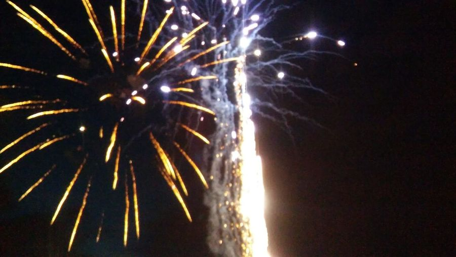 fire works from