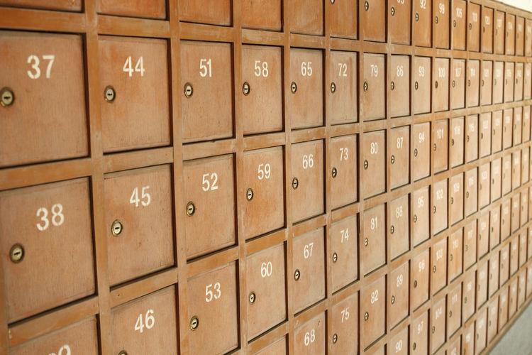 Box Post Wooden