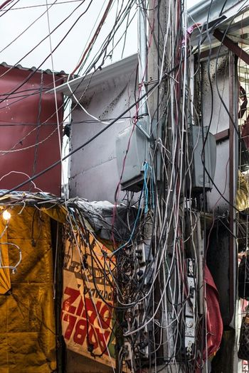 Guetto energy Streetphotography Urban Exploration Urban Decay Wire Mexico City Mexican Culture City Life EyeEmBestPics Urbex Streetphoto_color