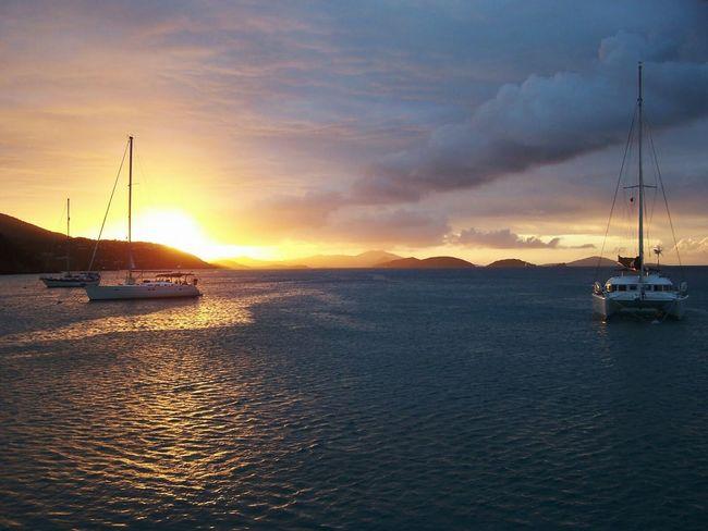 EyeEmNewHere Sommergefühle Carribean Sea Sunset Sailing