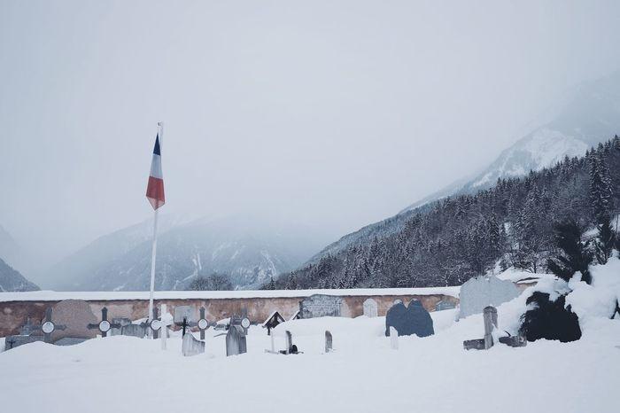 Fujixt1 Snow Fujifilm Winter VSCO Cemeteryscape France Frenchalps