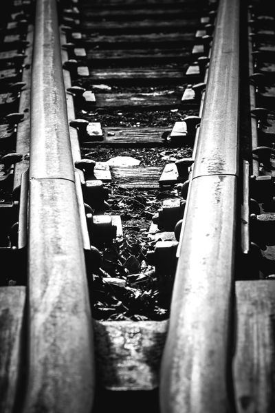 Abandoned Black And White Photography Canadian National Railway Deteriorated I Love Trains Metal Old Old Railway Line Railroad Railroad Crossing Railroad Switch Railroad Ties Railroad Track Railroad Tracks Rusty Rustygoodness Showcase April The Architect - 2016 EyeEm Awards Ties Train Train Tracks Trains Trainspotting Vintage Worn Out