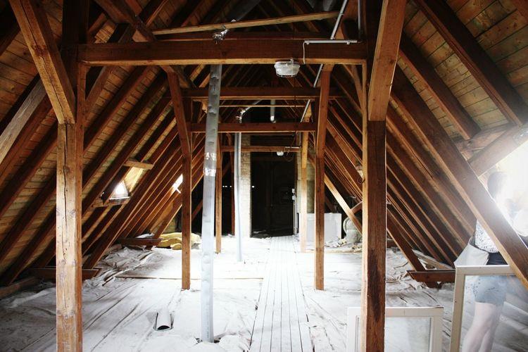 At the Attic in Weimar . EyeEm Best Shots EyeEm Germany Roof Wood