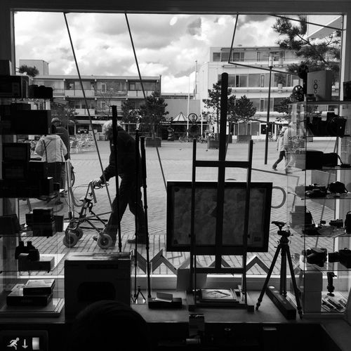 Monochrome Blackandwhite Window Silhouette