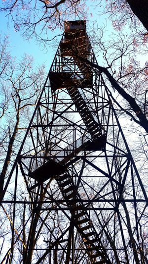Old fire tower! Enjoyed the walk such an amazing view!